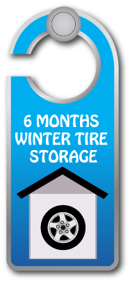 winter tire storage Airdrie